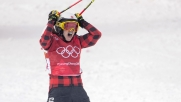 Canada's Kelsey Sherwa wins the ski cross event at the PyeongChang 2018 Olympic Winter Games in Korea, Friday, February 23, 2018. THE CANADIAN PRESS/HO - COC – Jason Ransom