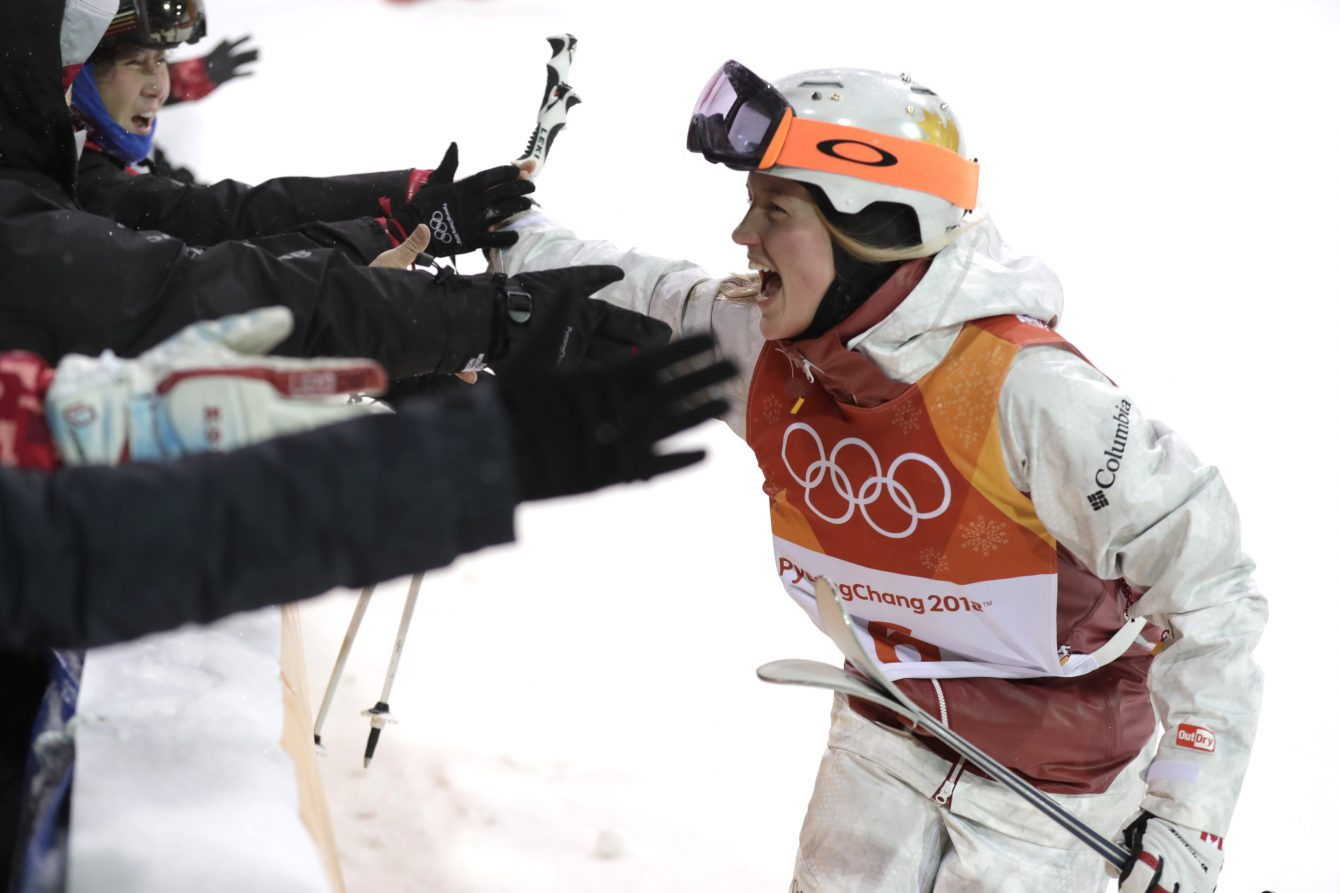 Team Canada Justine Dufour-Lapointe PyeongChang 2018