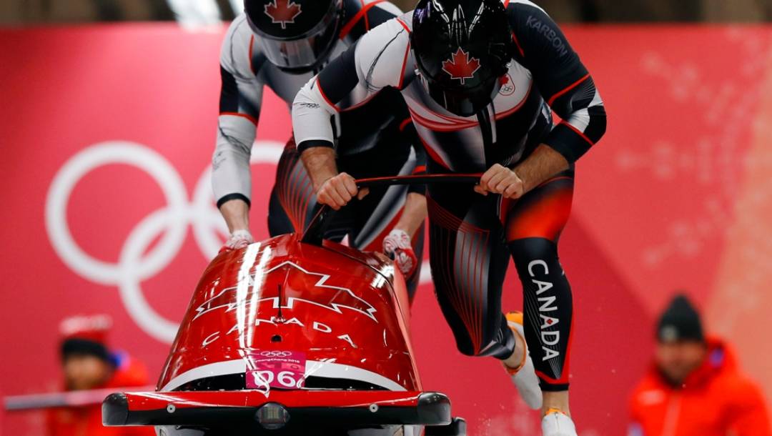 Team Canada - Justin Kripps, Alex Kopacz, Pyeongchang 2018