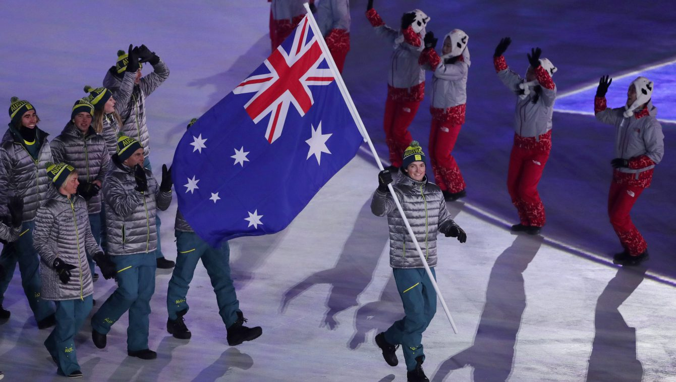 Pyeongchang Olympics Opening Ceremony Australia
