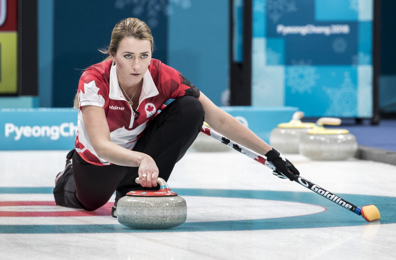 Team Canada curling PyeongChang 2018