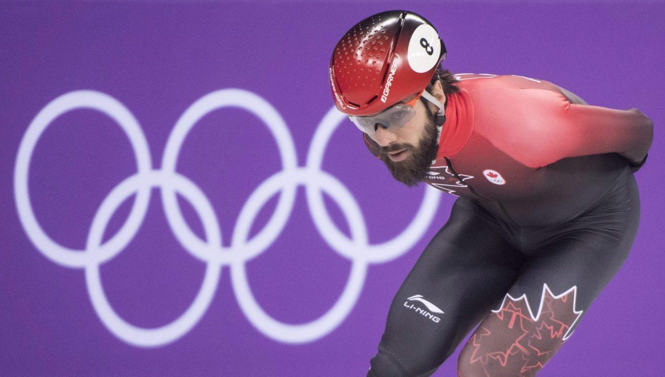 Team Canada Charles Hamelin