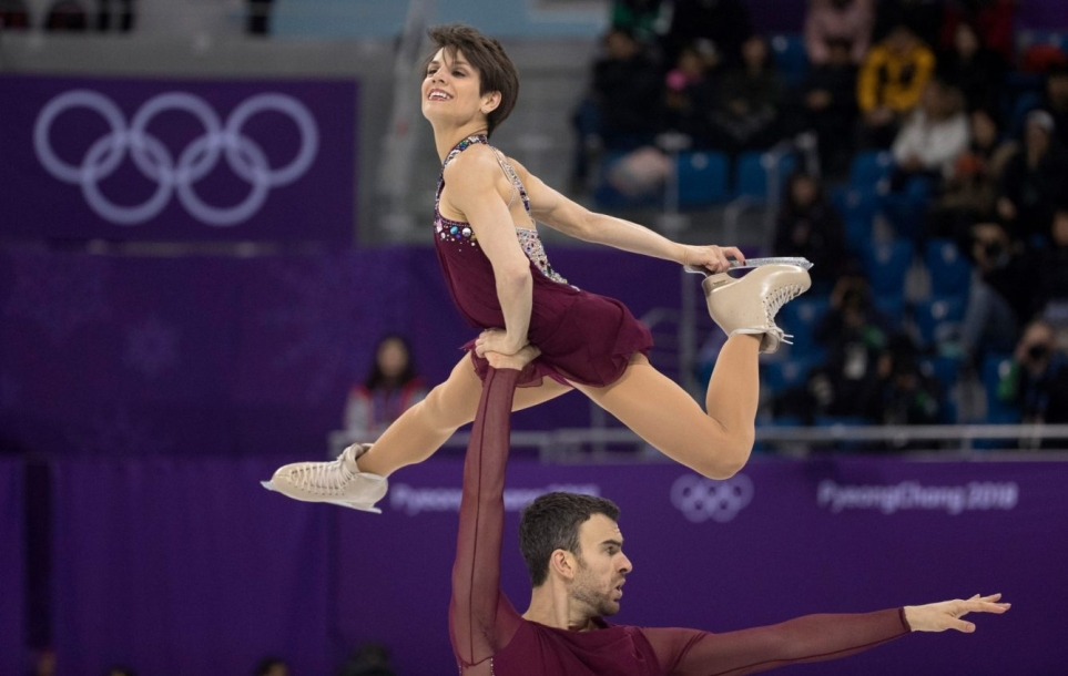 Team Canada Duhamel Radford PyeongChang 2018 pairs free