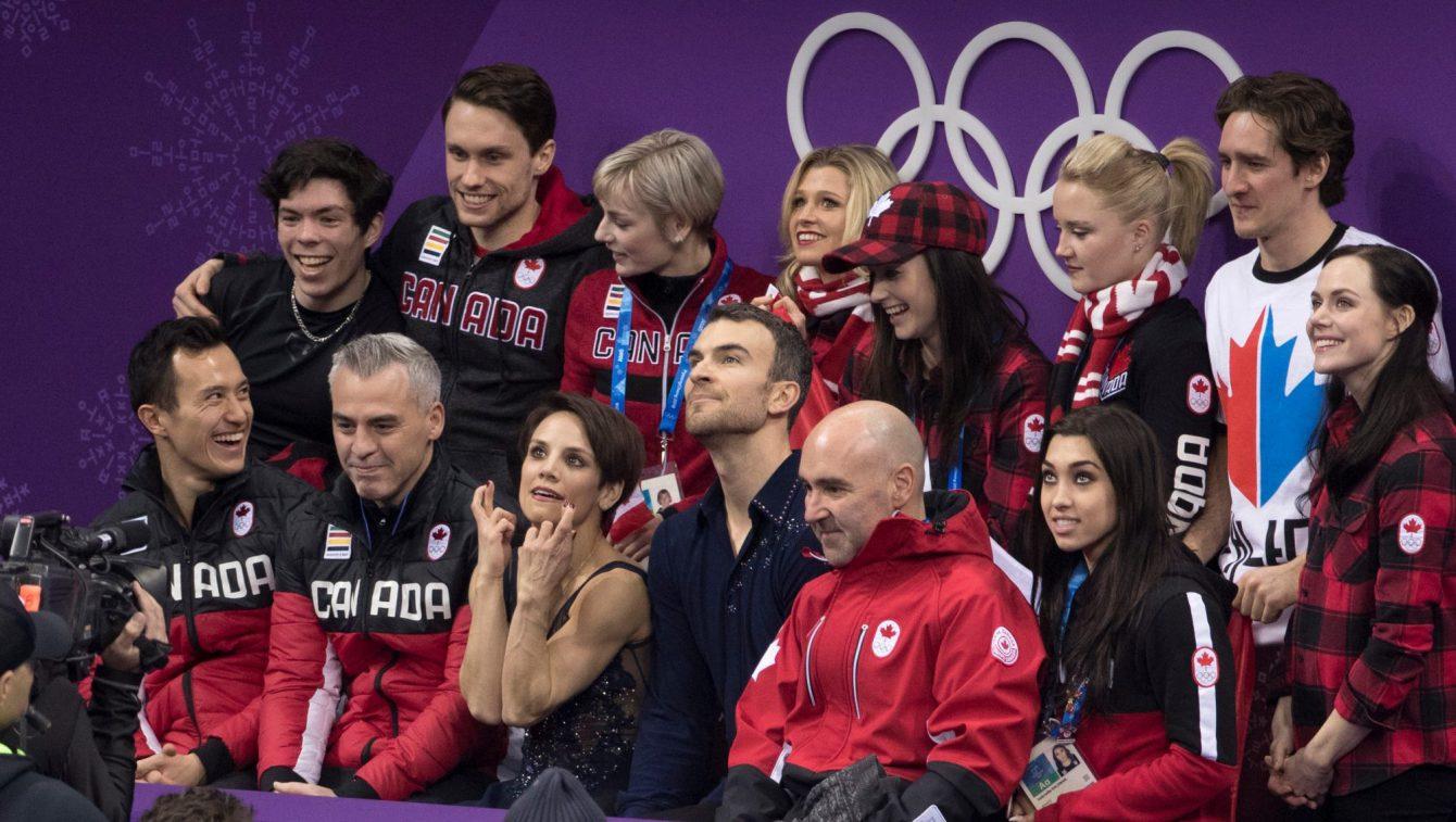 Team Canada Duhamel Radford PyeongChang 2018 team event short program