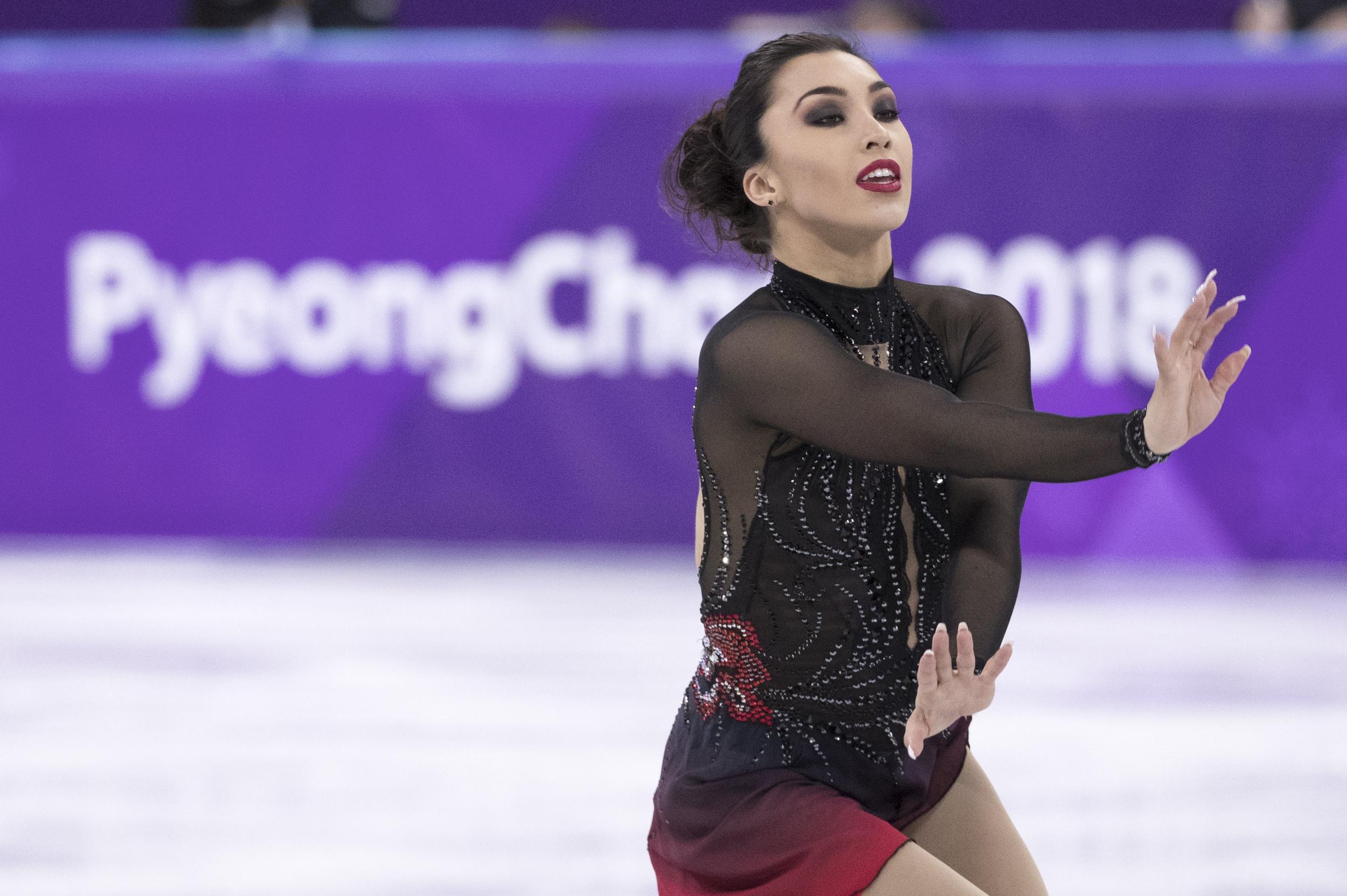 Team Canada Gabrielle Daleman PyeongChang 2018 short program