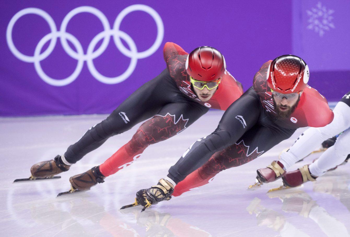 Charles Hamelin Samuel Girard Team Canada PyeongChang 2018