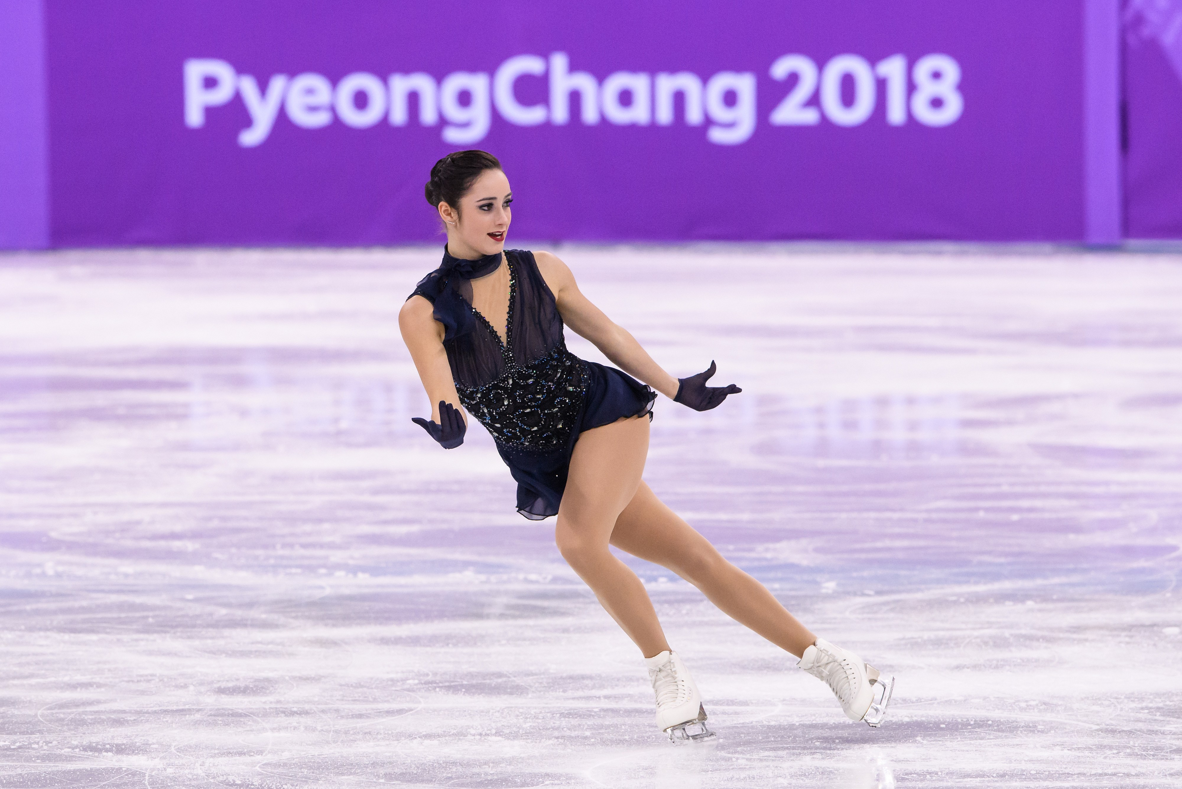 Team Canada Kaetlyn Osmond PyeongChang 2018 team event