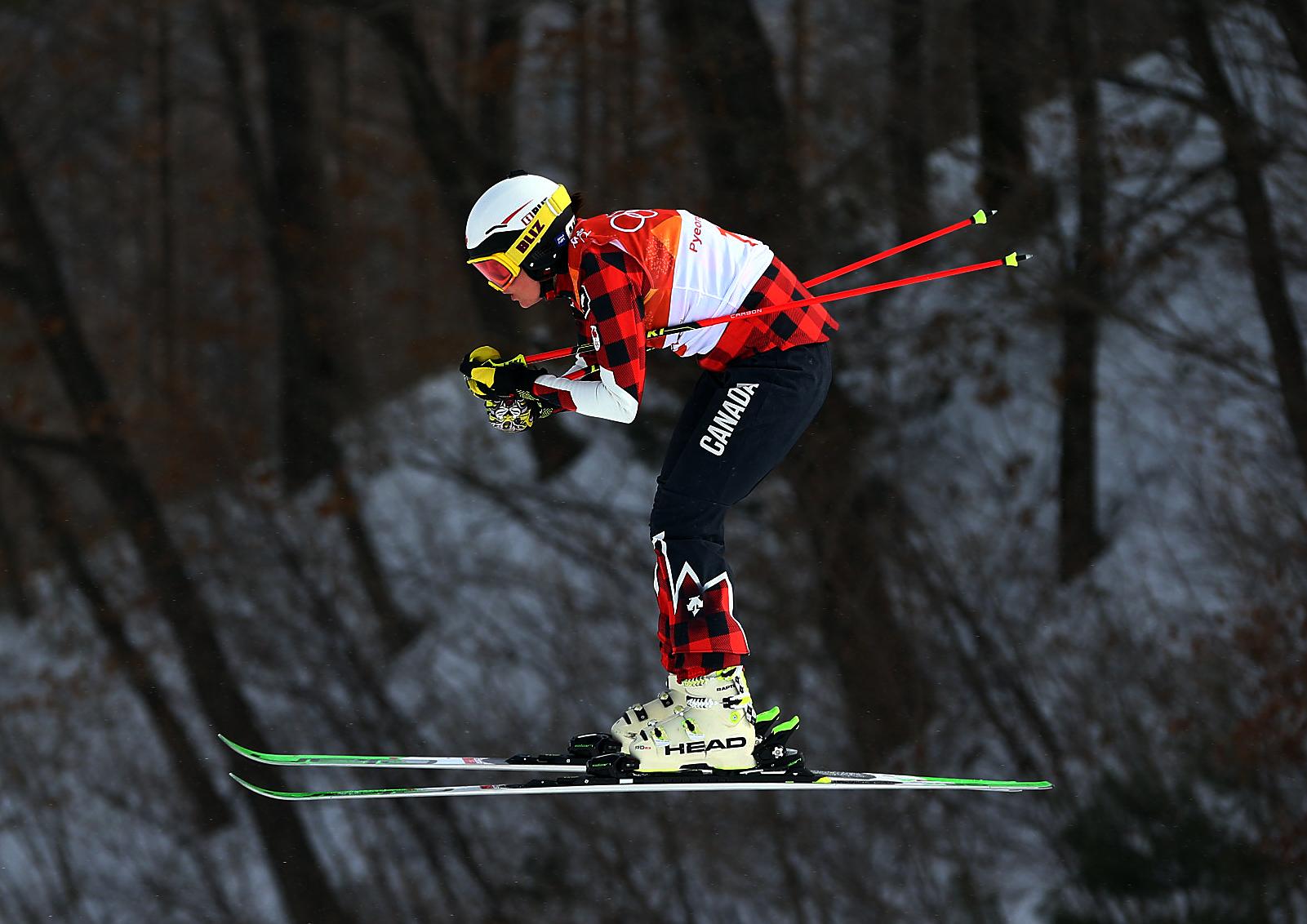 Team Canada Kelsey Serwa PyeongChang 2018 seeding run
