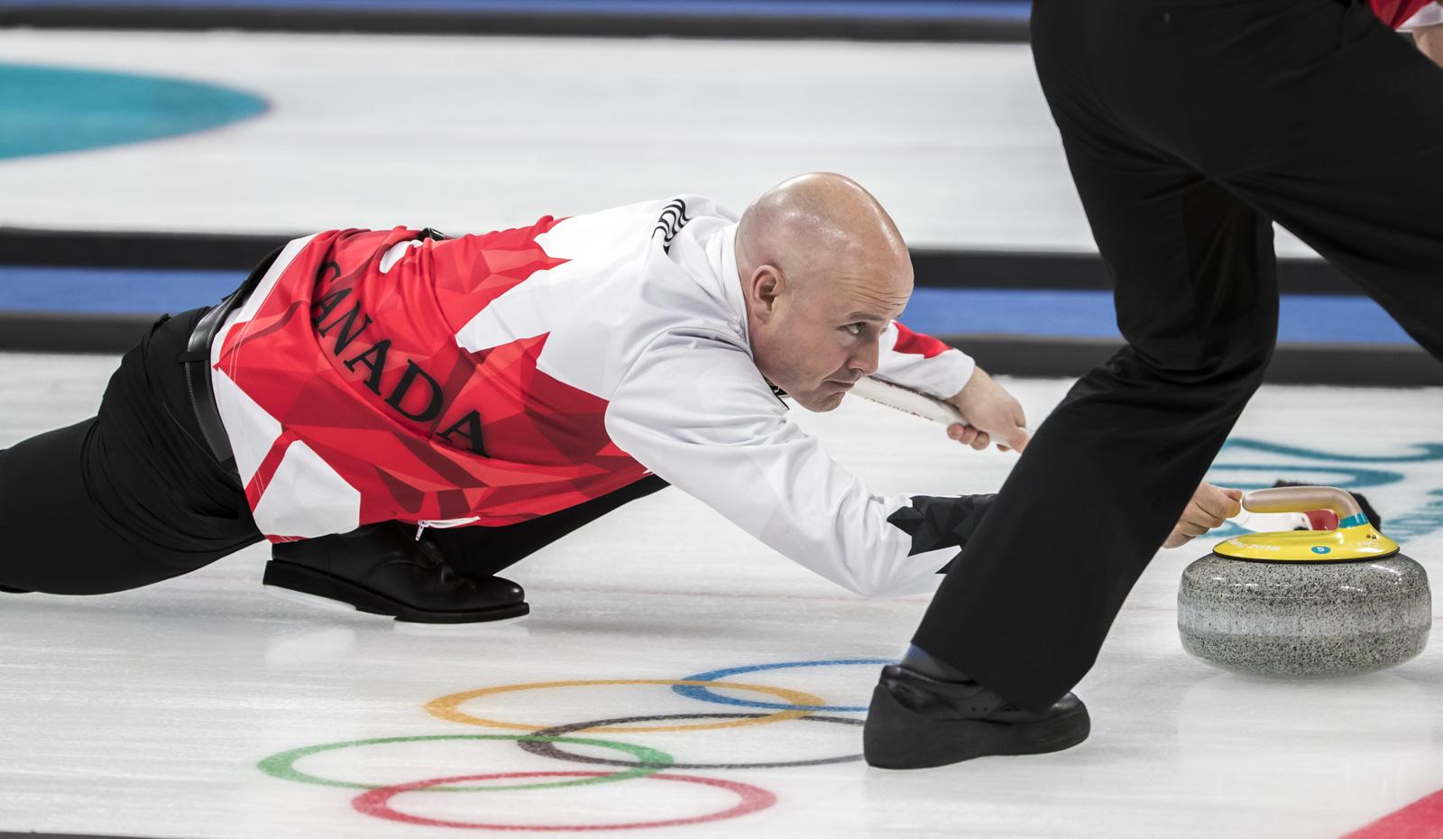 Team Canada Kevin Koe PyeongChang 2018 vs Japan