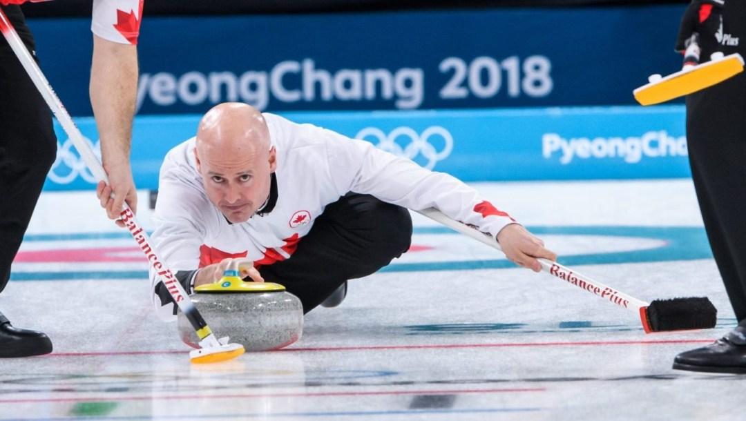 Team Canada Kevin Koe PyeongChang 2018 vs USA