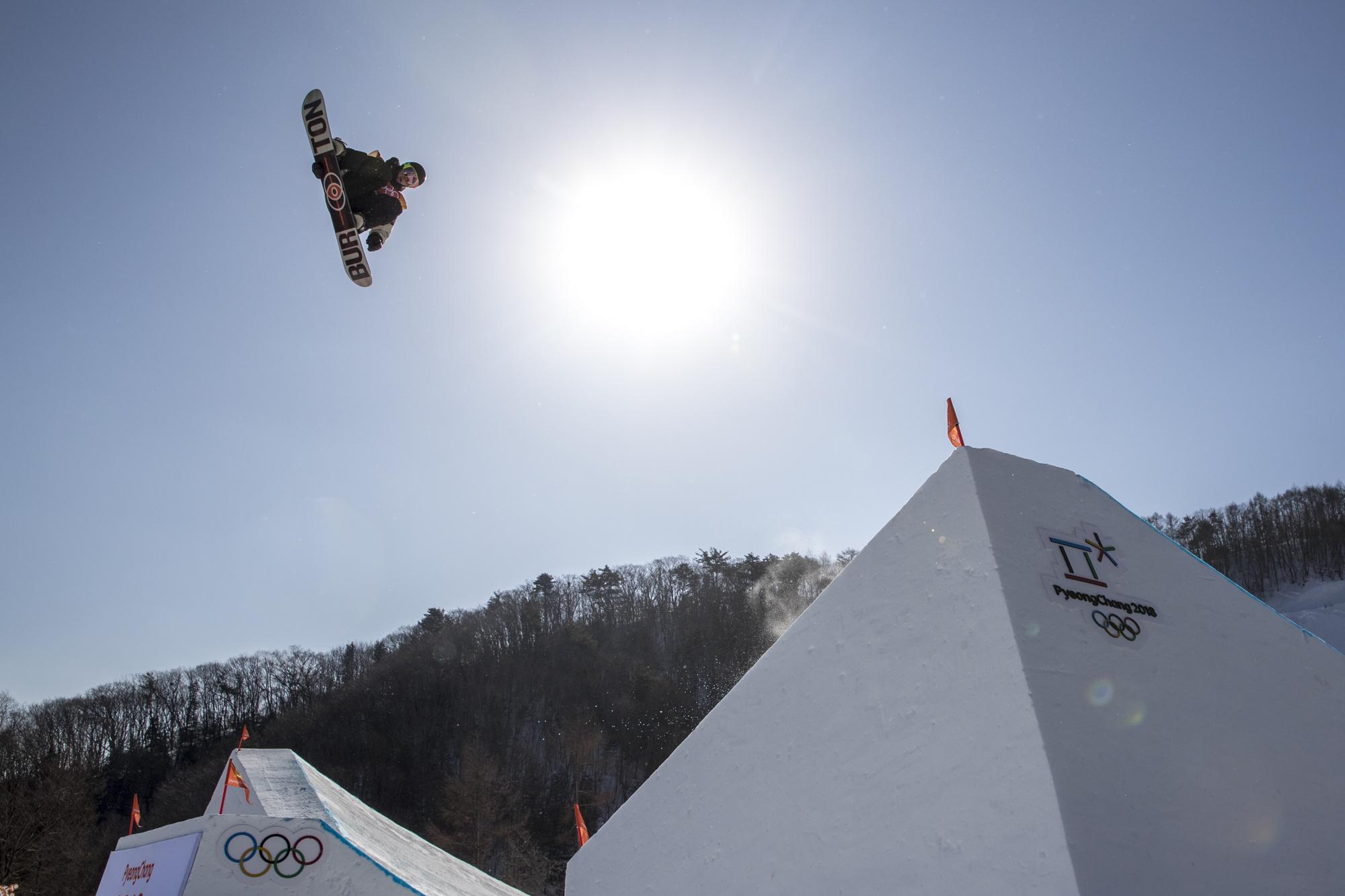 Team Canada Mark McMorris PyeongChang 2018 slopestyle final