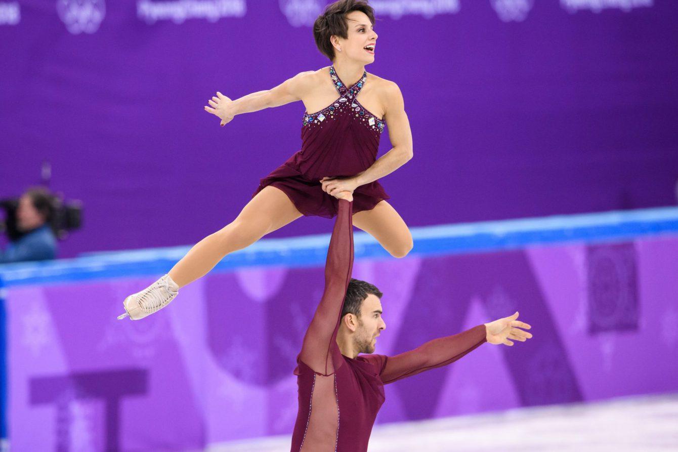 Team Canada Meagan Duhamel Eric Radford PyeongChang 2018 team event
