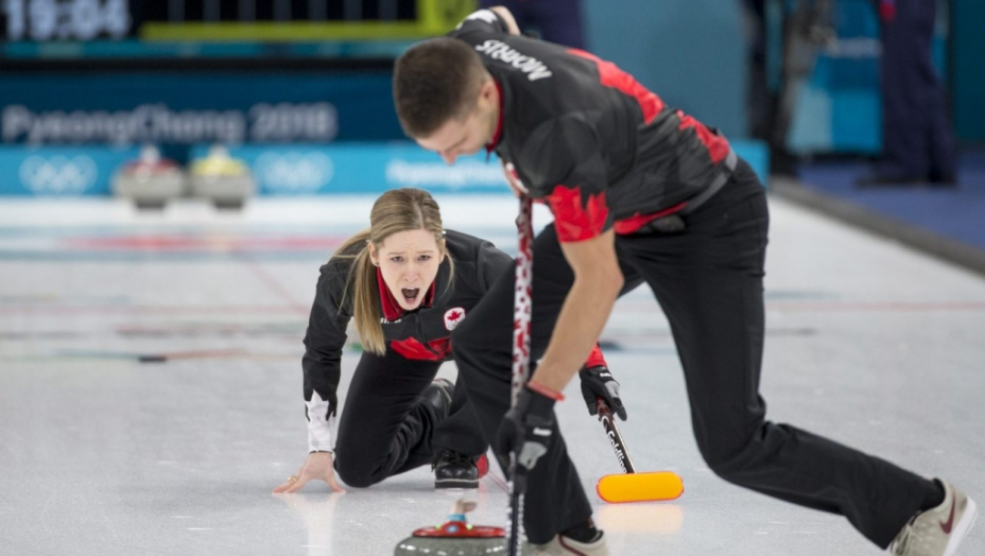 Team Canada Mixed Doubles Draw 1 vs NOR