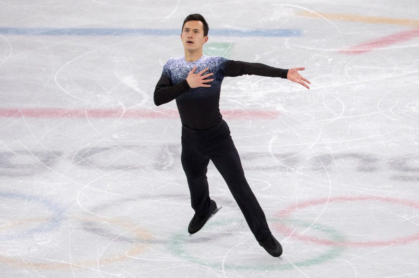 Team Canada Patrick Chan PyeongChang 2018 team short program