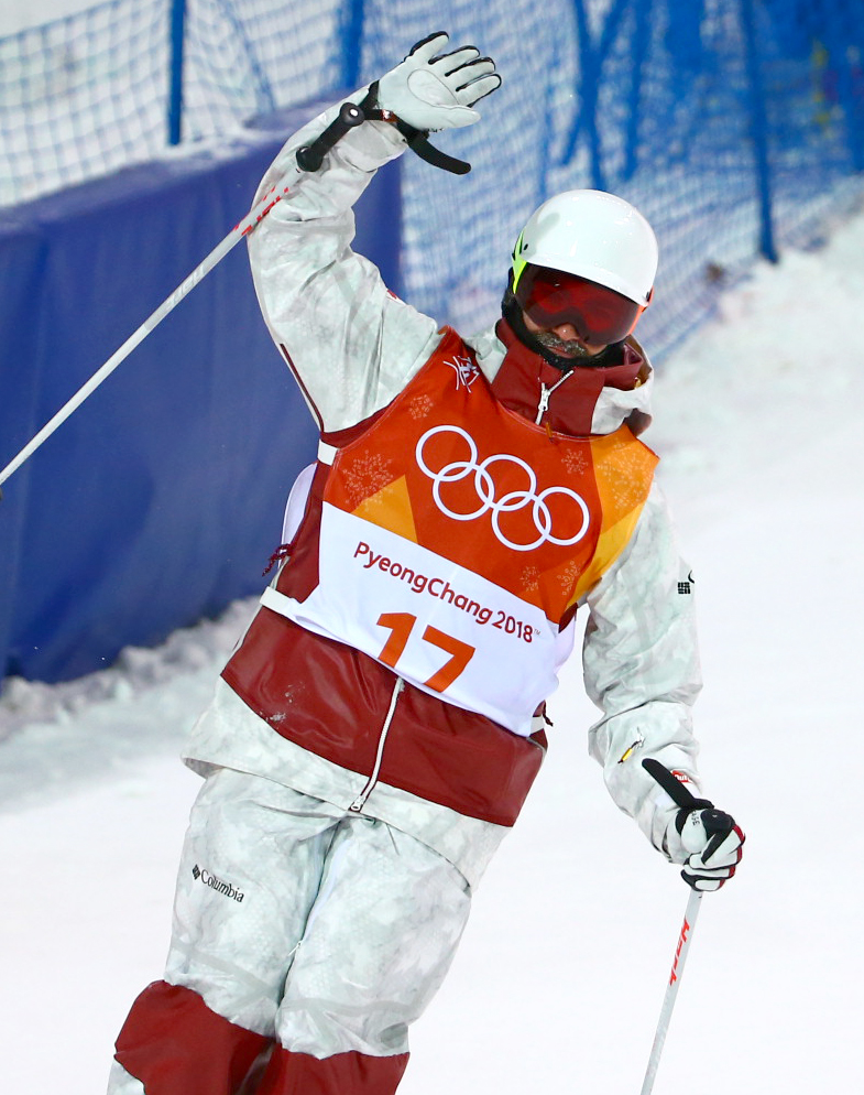 Team Canada Philippe Marquis PyeongChang 2018