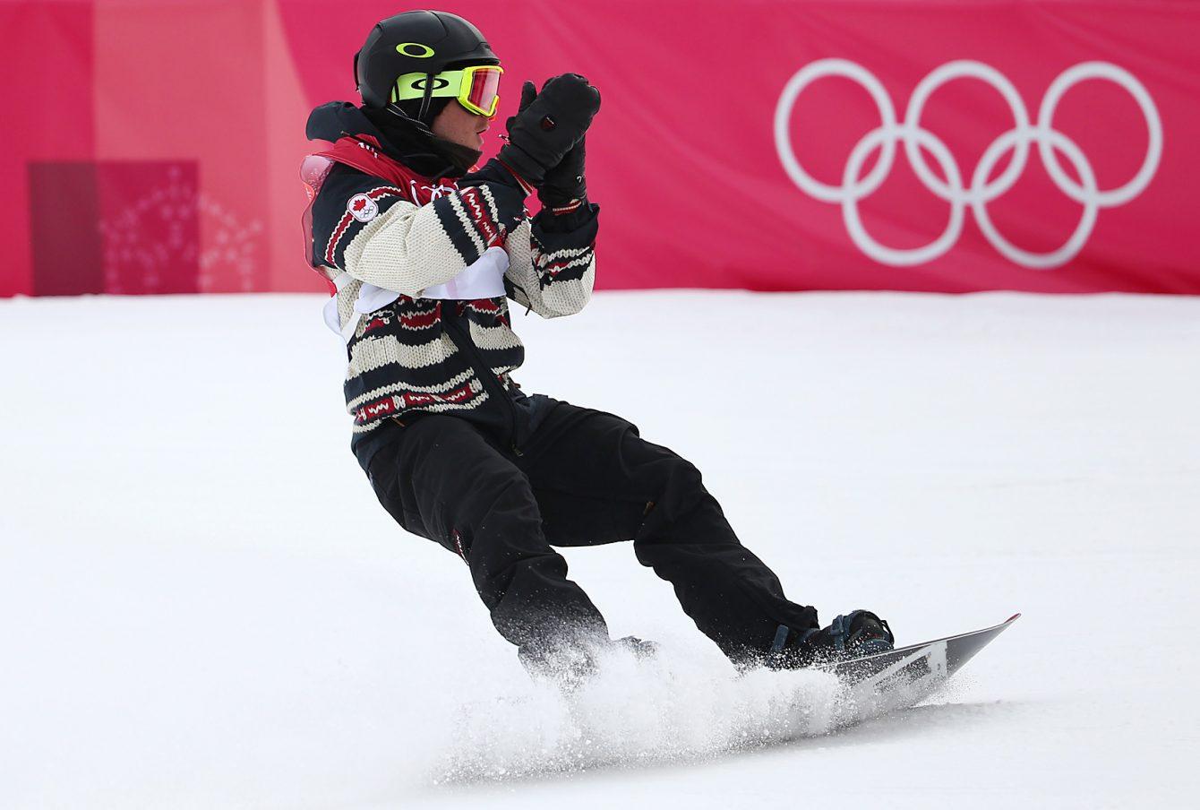 Team Canada Sebastien Toutant Big Air finals