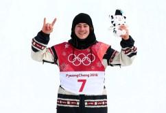 Team Canada PyeongChang 2018 Sebastien Toutant Big Air podium