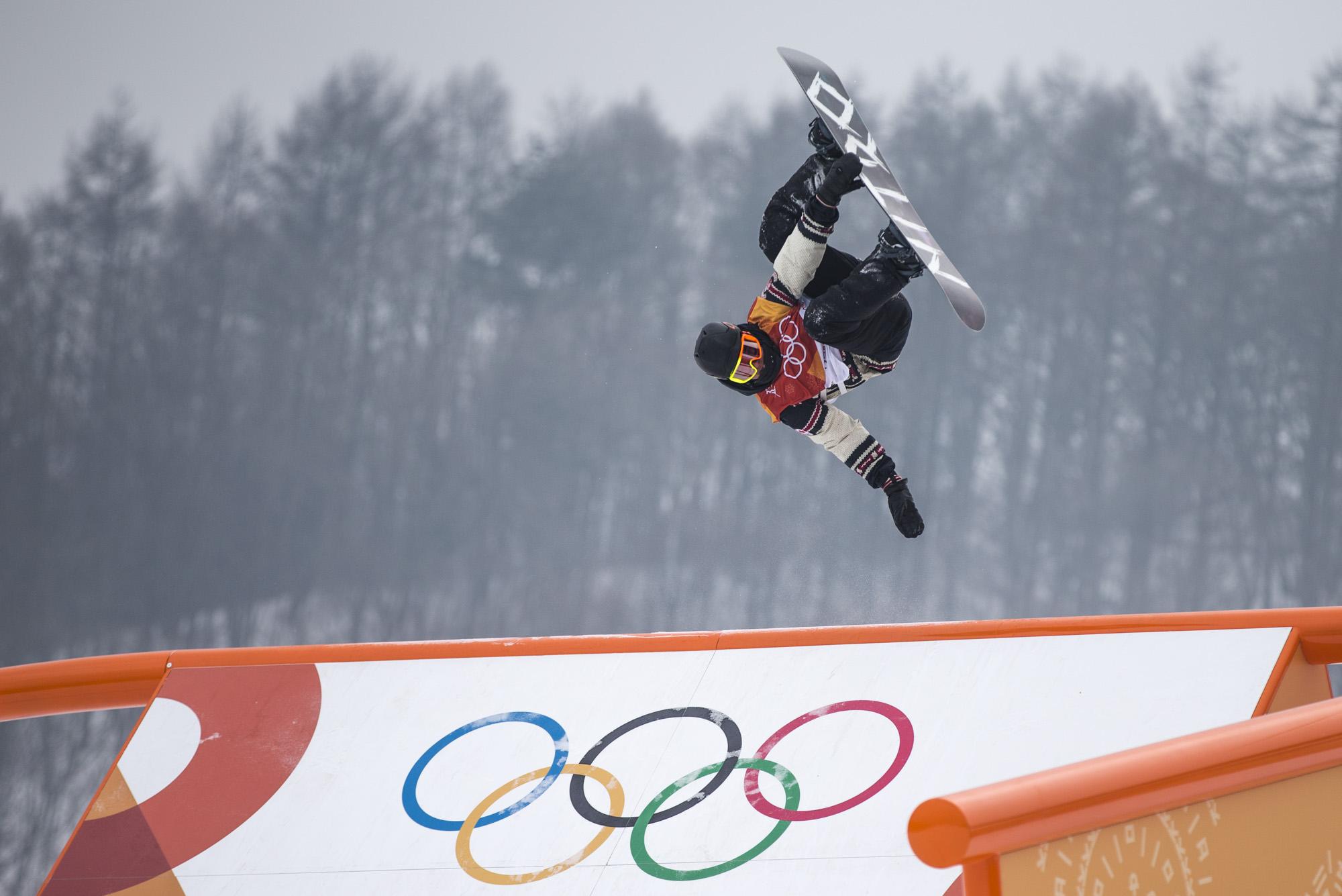 Team Canada Sebastien Toutant PyeongChang 2018 Slopestyle Qualifying