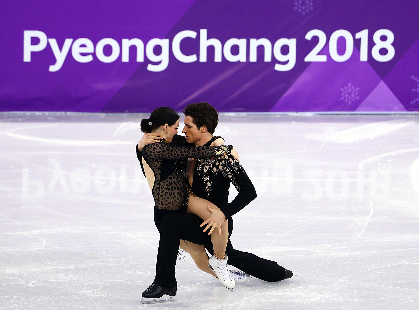 Team Canada Tessa Virtue Scott Moir PyeongChang 2018 short dance