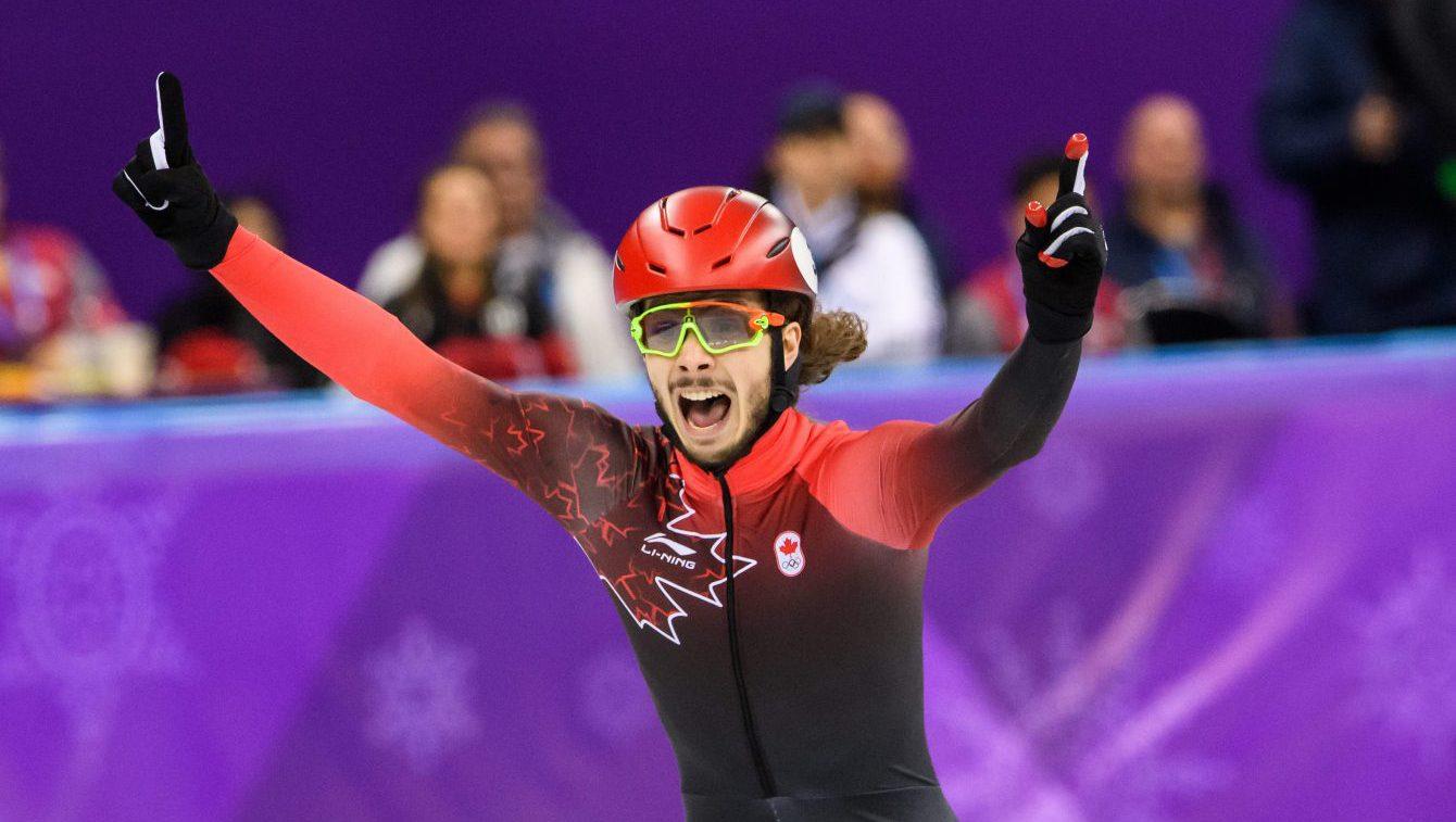 Team Canada Samuel Girard PyeongChang 2018