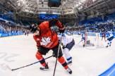 Team Canada Linden Vey men's hockey PyeongChang 2018