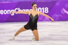 PYEONGCHANG, SOUTH KOREA - FEBRUARY 23: Kaetlyn Osmond competes in the Ladies Single Free Skating at the 2018 Winter Olympic Games at Gangneung Ice Arena on February 23, 2018 in Pyeongchang-gun, South Korea (Photo by Vincent Ethier/COC)