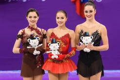PYEONGCHANG, SOUTH KOREA - FEBRUARY 23: Kaetlyn Osmond wins bronze in the Ladies Single Free Skating at the 2018 Winter Olympic Games at Gangneung Ice Arena on February 23, 2018 in Pyeongchang-gun, South Korea (Photo by Vincent Ethier/COC)