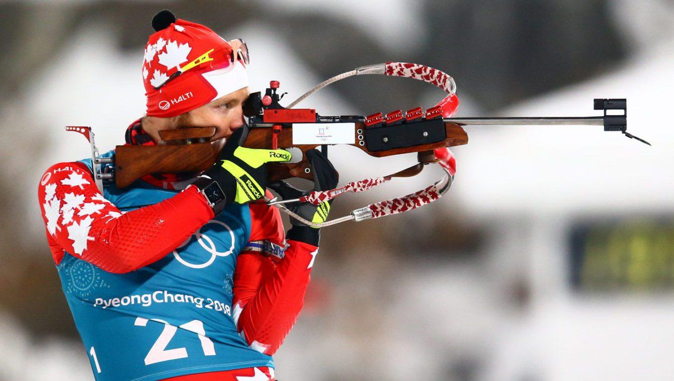 Team Canada Macx Davies PyeongChang 2018