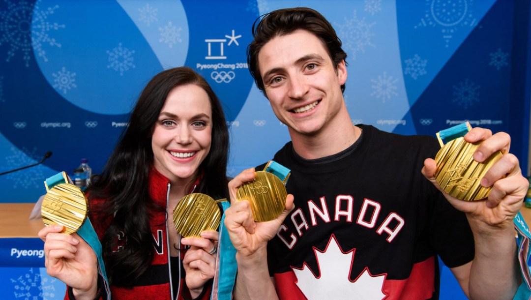 Team Canada Tessa Virtue Scott Moir PyeongChang 2018