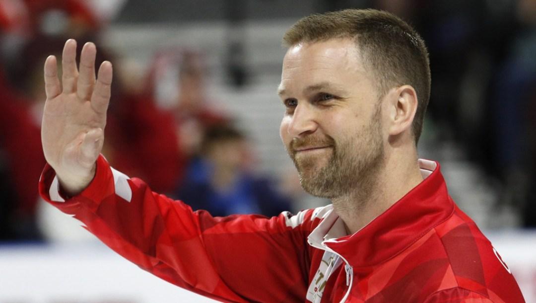 Team Canada Brad Gushue