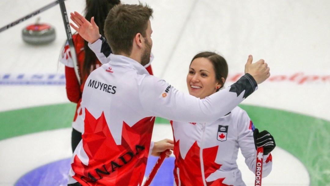 Team Canada Crocker Muyres bronze