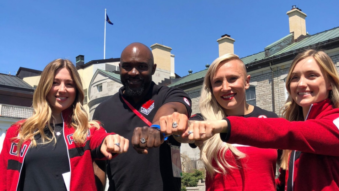 Team Canada Olympic Rings by Teck Resources