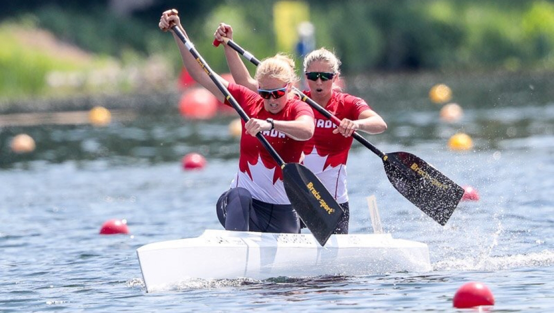 Team Canada Laurence Vincent Lapointe and Katie Vincent