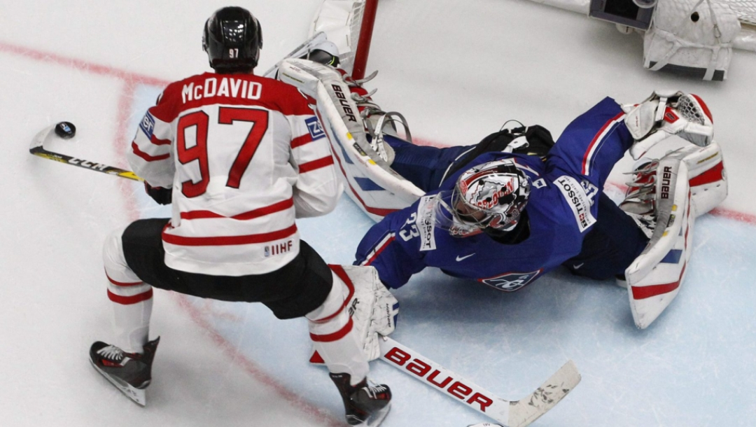 Team Canada Connor McDavid