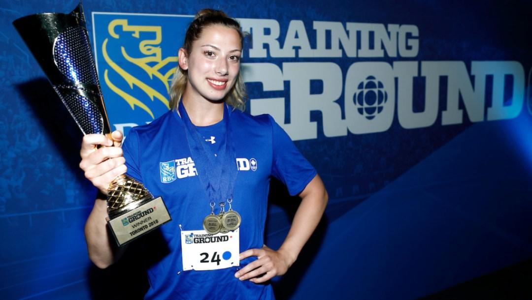 Sara Villani, RBC Training Ground Top Performer, Ontario Regional Final