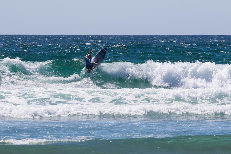 Bethany Zelasko rides the wave