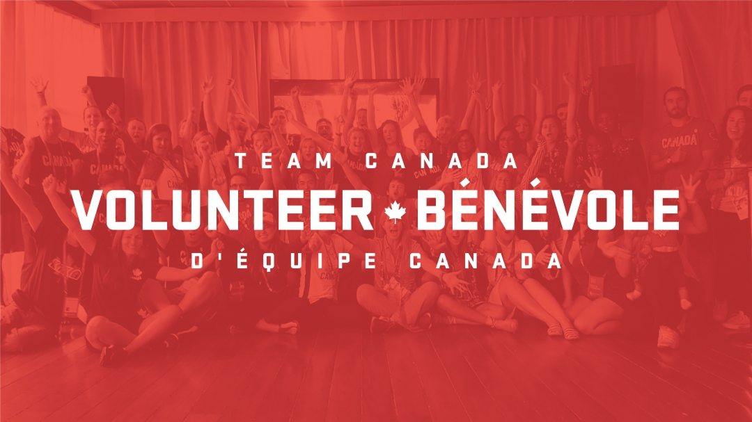 Team Canada volunteer graphic