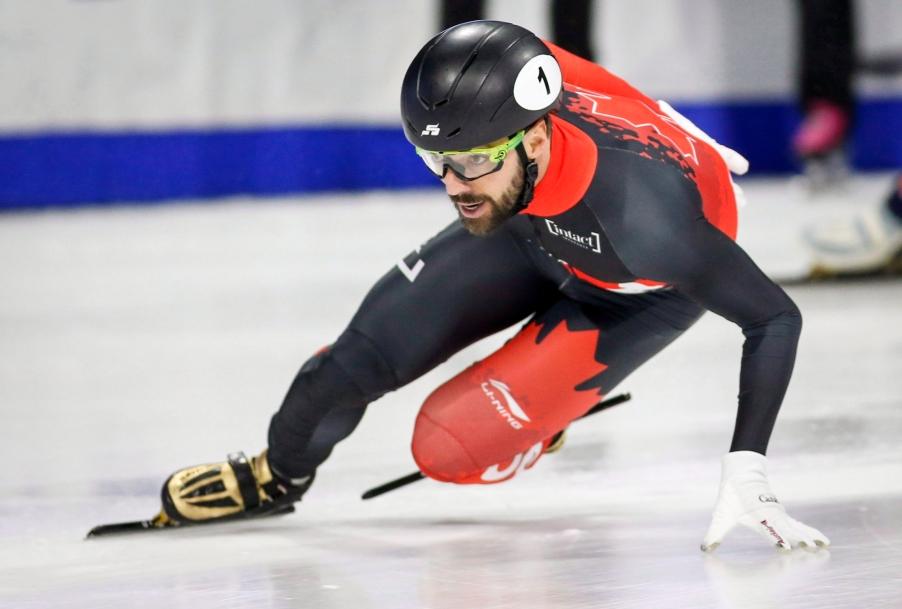 Canadian Short Track Speed Skater, Charles Hamelin