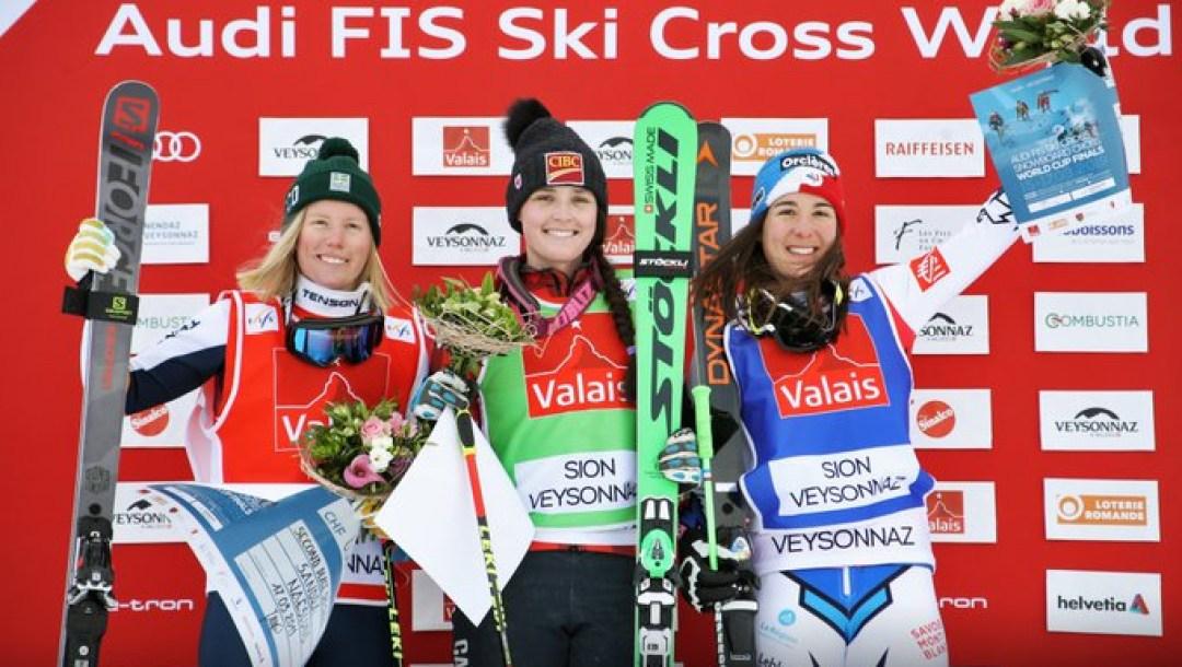 Marielle Thompson FIS Ski Cross Finale
