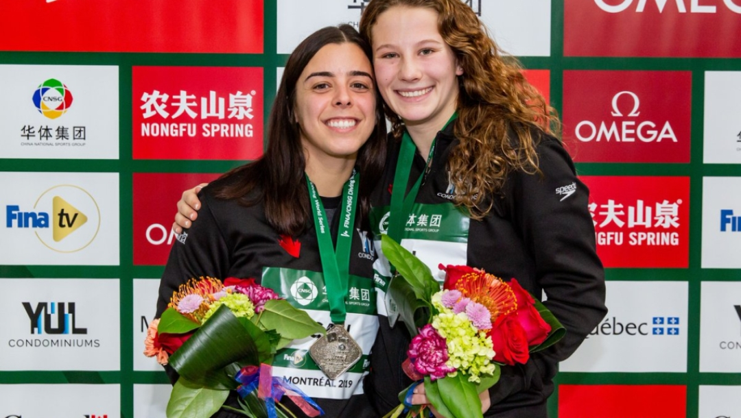 Diving World Series - Meaghan Benfeito and Caeli McKay