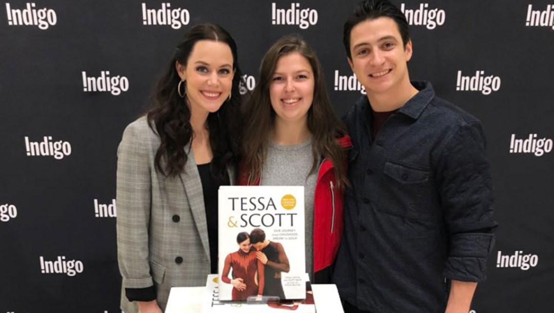 Team-Canada-Tessa-Virtue-Scott-Moir-Book-Launch-Nov-2018