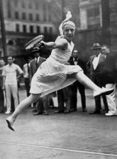 Suzanne Lenglen won two French Open titles (1925,1926) and one of the main courts at Roland Garros is named after her.