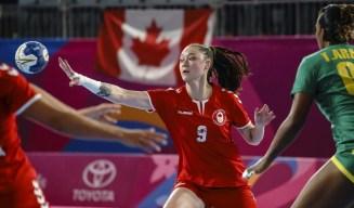 Katya Chan passes ball