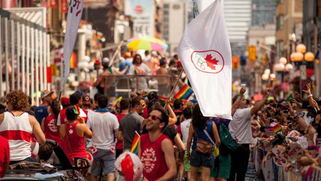 Team Canada Toronto Pride 2016