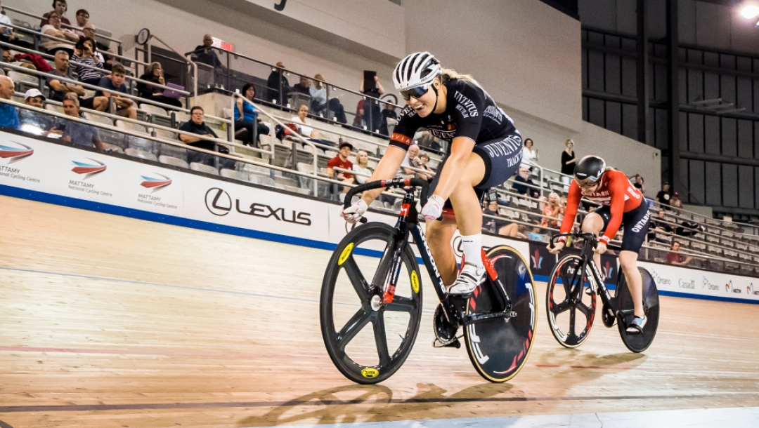 Kelsey Mitchell - 2018 Canadian Track Cycling Championship