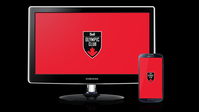Canadian Olympic Club, presented by Bell – Red Wallpaper