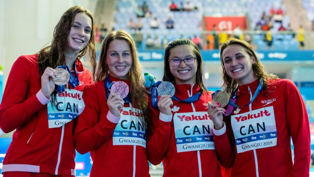 Team-Canada-Women's-4x100m