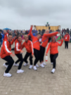 Athletes excited at welcoming ceremony