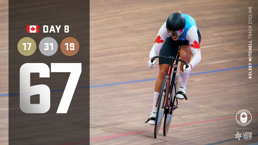 Lima Day 8 recap, kelsey mitchell cycling