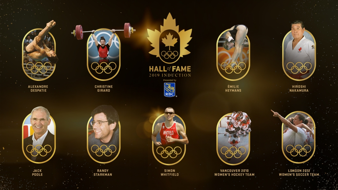 2019 Canadian Olympic Hall of Fame Inductees
